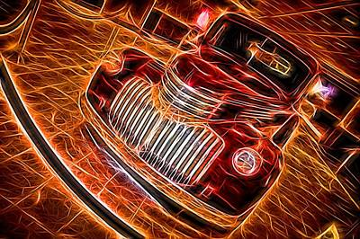 Firefighter Patents Royalty Free Images - Retro Cruiser Royalty-Free Image by Dennis Massey
