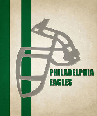 Retro Eagles Art Art Print