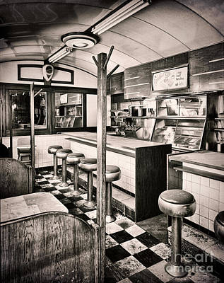 Sixties Painting - Retro Fifties Diner by Mindy Sommers