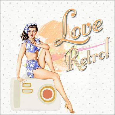 Decoupage Mixed Media - Retro by FL collection