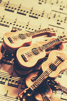 Classical Music Wall Art - Photograph - Retro Folk And Blues by Jorgo Photography - Wall Art Gallery