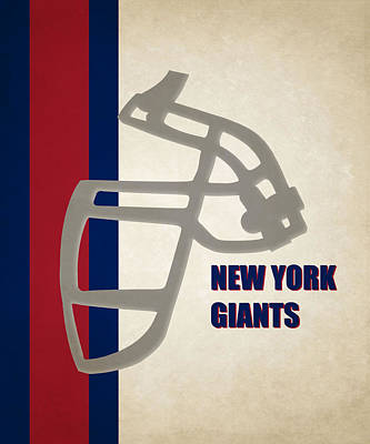 New York Giants Photograph - Retro Giants Art by Joe Hamilton