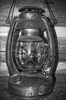Photograph - Retro Lantern by Tikvah's Hope
