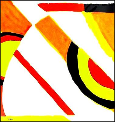 Painting - Retro Love by VIVA Anderson