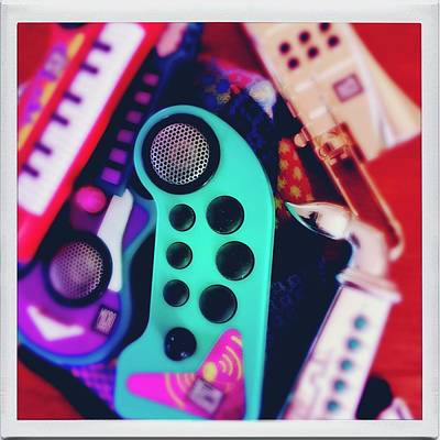 Photograph - Retro Microjammers by Anne Thurston