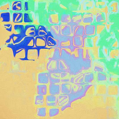 Painting - Retro Mod by Paulette B Wright