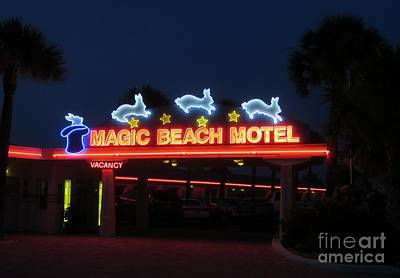 Photograph - Retro Motel by Tim Townsend
