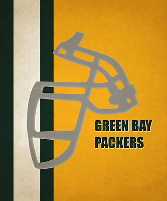 Retro Packers Art Art Print by Joe Hamilton