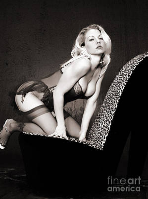 Photograph - Retro Pinup by Clayton Bruster