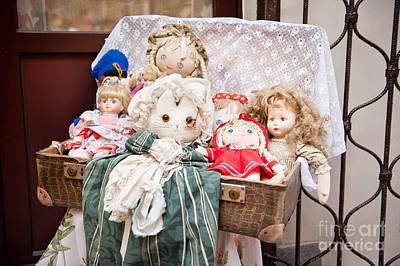 Rag Doll Photograph - Retro Rag Dolls Toys Collection by Arletta Cwalina