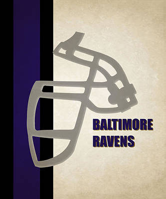 Baltimore Ravens Wall Art - Photograph - Retro Ravens Art by Joe Hamilton
