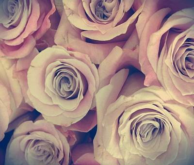 Photograph - Retro Roses by Marianna Mills