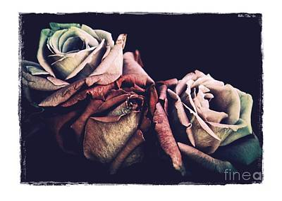 Photograph - Retro Roses by Patricia Strand