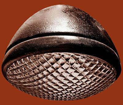 Photograph - Retro Rust Headlight by Tony Grider