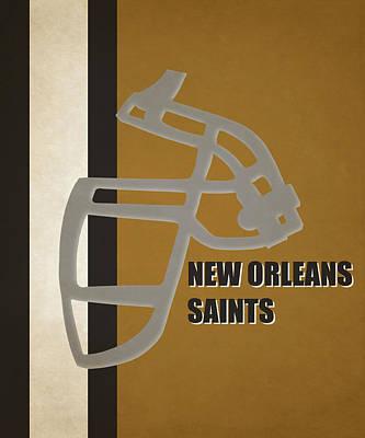 Orleans Photograph - Retro Saints Art by Joe Hamilton