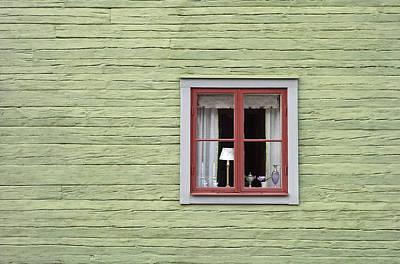 Photograph - Retro Scandinavian Facade by Dreamland Media