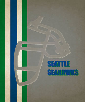 Seattle Seahawks Photograph - Retro Seahawks Art by Joe Hamilton