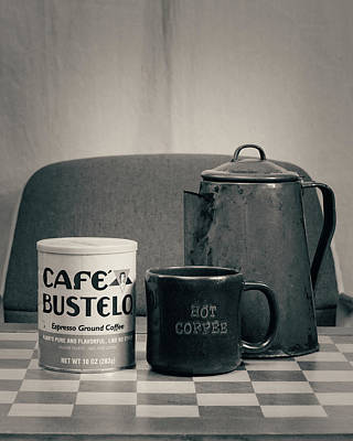 Photograph - Retro Single Coffee Cafe by Philip A Swiderski Jr