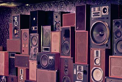 Retro Sound Art Print