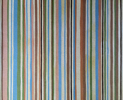 Painting - Retro Stripes by Enzie Shahmiri