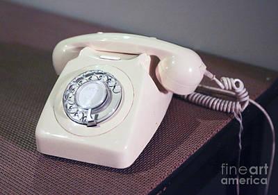 Retro Telephone Art Print