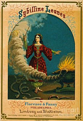 Photograph - Retro Tobacco Label 1852 by Padre Art