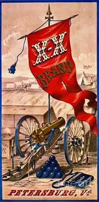 Photograph - Retro Tobacco Label 1857 by Padre Art