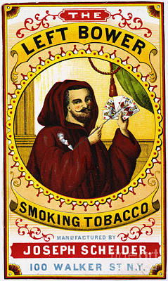 Photograph - Retro Tobacco Label 1869 C by Padre Art
