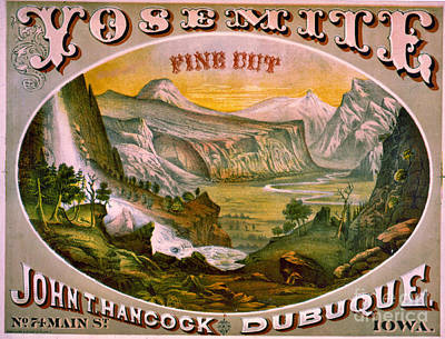Photograph - Retro Tobacco Label 1872 B by Padre Art