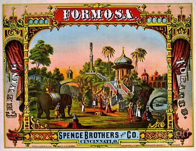 Photograph - Retro Tobacco Label 1872 C by Padre Art