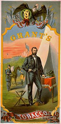 Photograph - Retro Tobacco Label 1874 C by Padre Art