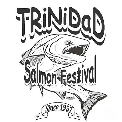 Robert Morrissey Photograph - Retro Trinidad Bay Salmon Festival 1957 by Robert Morrissey