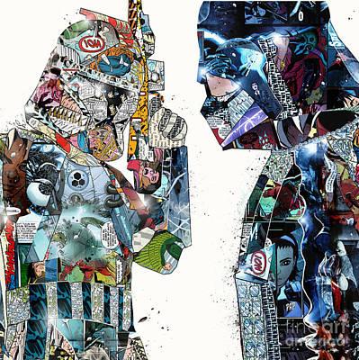 Painting - Retro Wars by Bri B