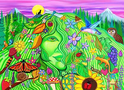 Digital Art - Return Of Mother Nature by Nick Gustafson