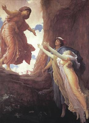 Painting - Return Of Persephone by Frederic Lord Leighton