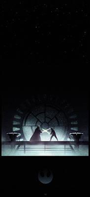 Alliance Digital Art - Return Of The Jedi by Colin Morella