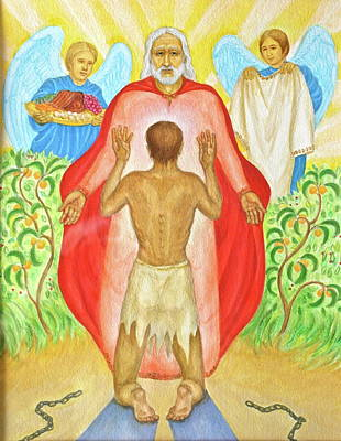 Painting - Return Of The Prodigal Son by Michele Myers