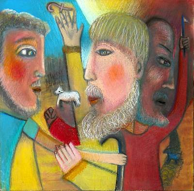 Return Of The Prodigal Son Art Print by Ward Smith