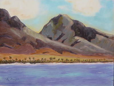 Painting - Return To Maui by Alan Mager