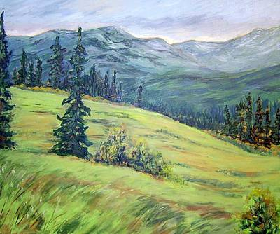 Painting - Return To The Emerald Forest   by Nancy Day