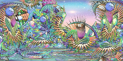 Loon Digital Art - Return To The Land Of Corn... by Phil Sadler