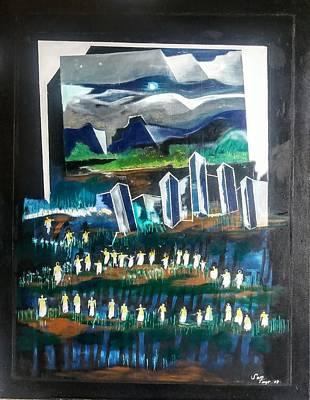 Painting - Returning Home by Adalardo Nunciato  Santiago