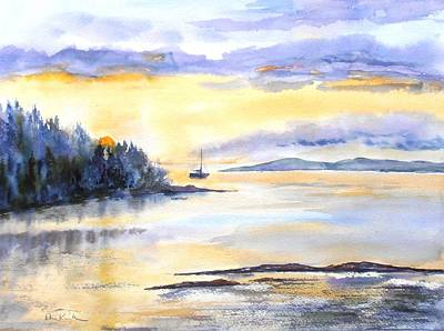 Painting - Returning Home by Diane Kirk