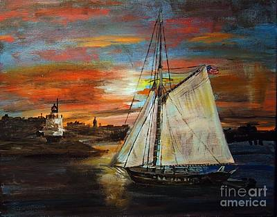 Painting - Returning Home by Francois Lamothe