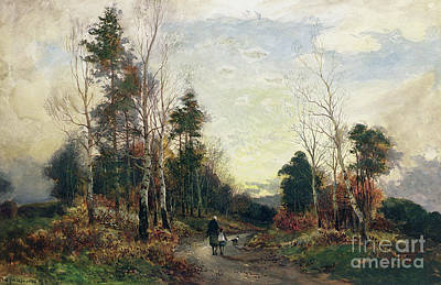 Painting - Returning Home by William Manners