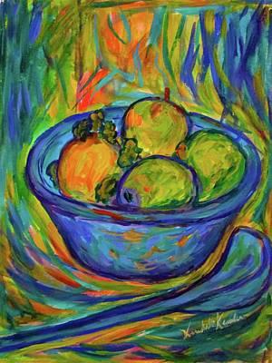 Painting - Returning The  Bowl by Kendall Kessler