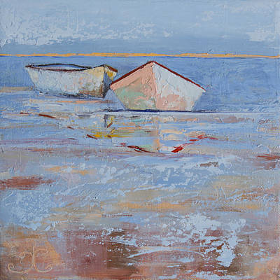Painting - Returning Tides by Trina Teele