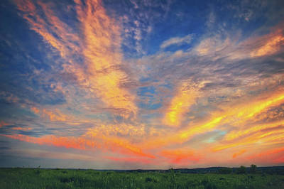 Photograph - Retzer Nature Center - Summer Sunset With Intense Clouds by Jennifer Rondinelli Reilly - Fine Art Photography