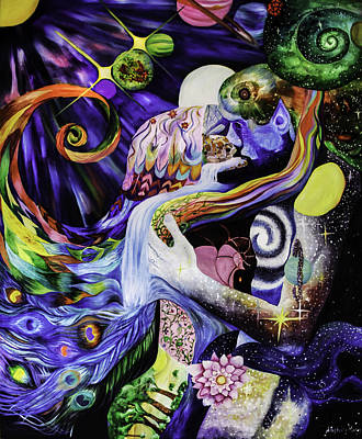 Chakra Painting - Reunion by Stephanie Koenig