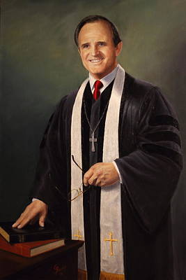 Painting - Rev John Miles by Glenn Beasley
